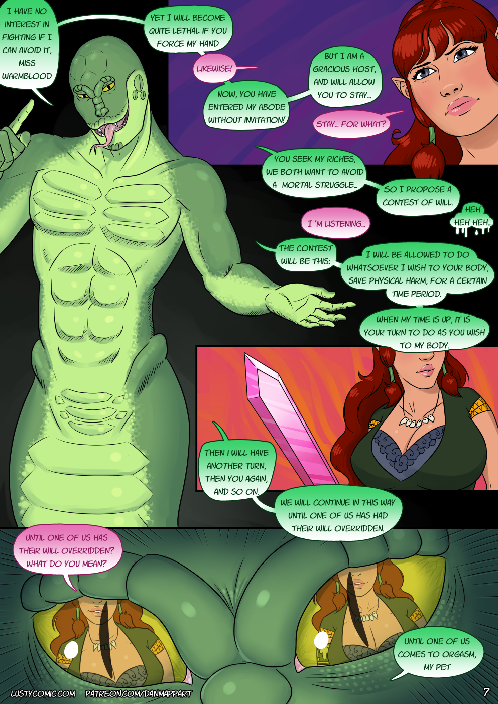 What's that? You love walls of text in a comic? You got it, buddy!